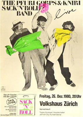Plakat Sack 'n' Roll Band 1980